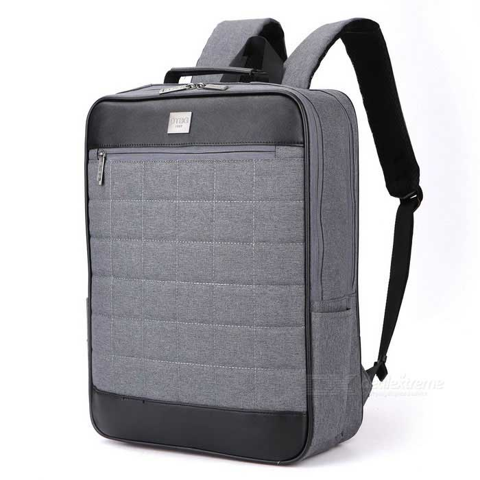 "DTBG D8174W 15.6"" Water-Resistant Unisex Laptop Backpack - Dark Grey"