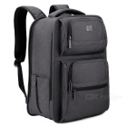 "DTBG D8177W 15.6"" Nylon Unisex Water Resistant Laptop Backpack - Grey"