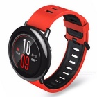 Xiaomi AMAZFIT HUAMI GPS Sports Watch w/ Ceramic Bezel - Red + Black