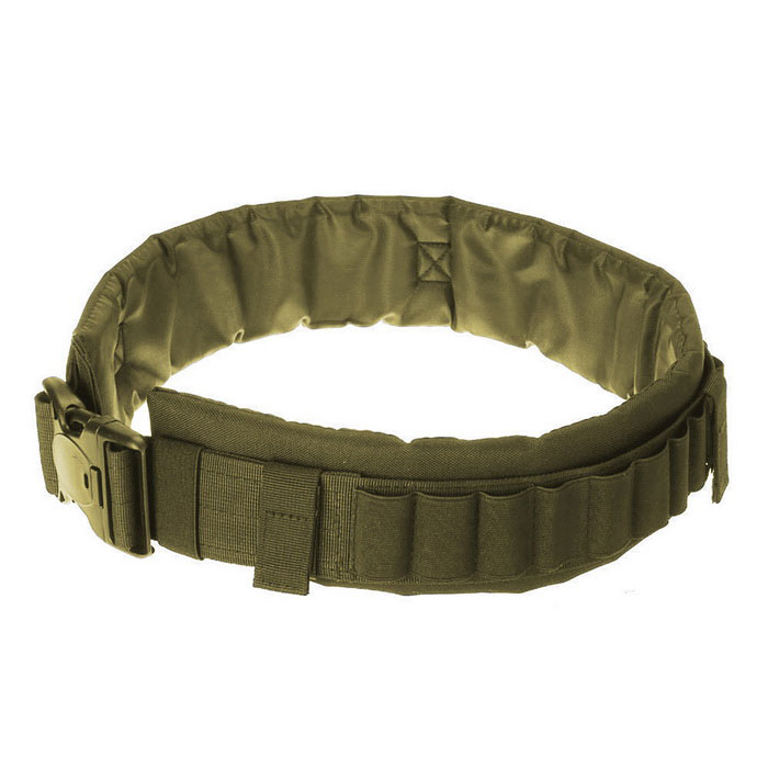25 Bullets Tactical Outdoor Sporting Gun Sling Waistband - Army Green