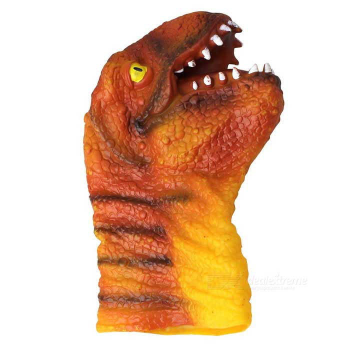 Silicone Tyrannosaurus Hand  Finger Doll Toy