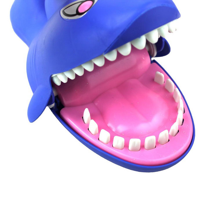 Toys For Biting : Electric biting hand shark dentist game toy for kids
