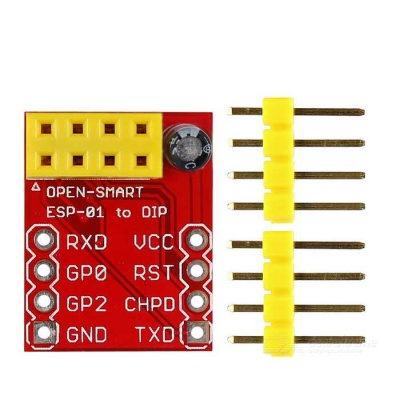 OPEN-SMART ESP8266 ESP-01 to DIP Wi-Fi Breadboard Module for Arduino