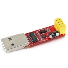 OPEN-SMART USB to ESP8266 ESP-01 Wi-Fi Adapter Module w/ CH340G Driver