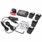 "2.6"" LCD Wireless TPMS Tire Pressure Monitoring System"