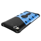 TPU + PC Protective Back Case w/ Holder for Xiaomi 5S - Blue + Black