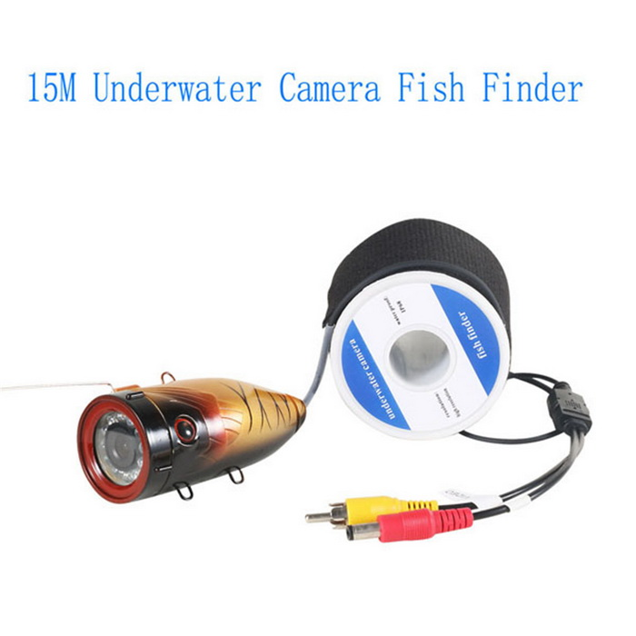 15m Underwater Fishing Camera Video Recorder Dvr Free
