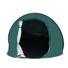 Waterproof 2 Doors Polyester Quick Automatic Opening Tent - Green