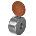 20mm * 10mm Round Shaped Magnetic NdFeB Magnets - Silver (10 PCS)