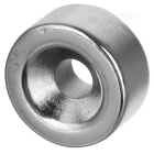 20mm * 10mm Round Shaped Magnetic NdFeB Magnet - Silver