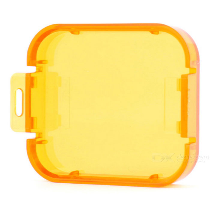 Professional Diving Housing Filter Cover for GoPro Hero 5 - Orange