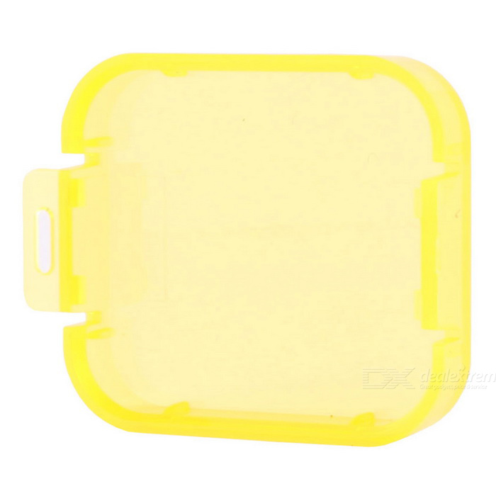 Professional Diving Housing Filter Cover for GoPro Hero 5 - Yellow
