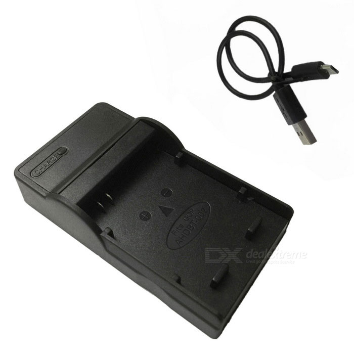 Ismartdi Micro USB Mobile Camera Battery Charger for Gopro Hero -Black