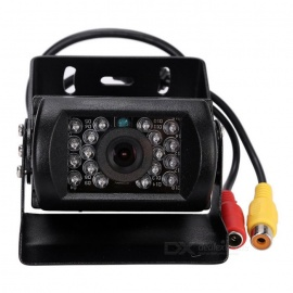 Kelima Bus Rearview CMOS Wired Camera DC 1224V Bus Truck Van PAL / NTSC Rearview CMOS Wired Camera w/ 18-IR LED Night Vision