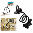 Kelima Lazy Clip-on Tablet Bedside Mobile Phone Holder - Black