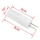 G4 AC / DC12V 2W COB LED Warm White Light Sapphire Lamp - White