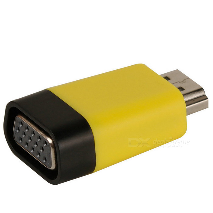 Kitbon HDMI Male to VGA Female Adapter Converter Dongle