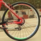 Bicycle Wheel Reflective Sticker - Red