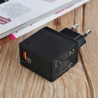 Tutuo QC-050P QC3.0 Wall Universal USB Travel AC Charger (EU Plug )