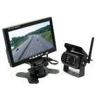 "KELIMA KLM-558 2.5W 7"" Monitor Wireless Visual System w/ Aerial Camera"