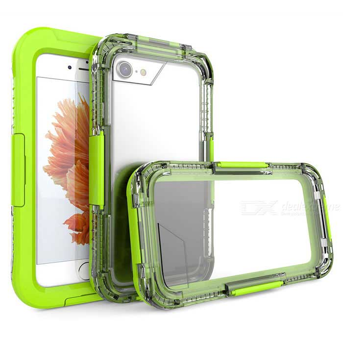 10m Waterproof Case w/ Touch Screen for IPHONE 7 - Green