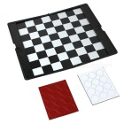 Wallet Magnetic Folding Game Playing Draughts American Checkers Checkerboard + Pieces - White +Black