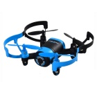 JXD 512W 2.4GHz FPV 4-Axis RC quadcopter con cámara de 0.3MP - negro + azul