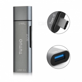 Tutuo USB OTG TF / SD Card Reader Hub Type-C Adapter for MACBOOK