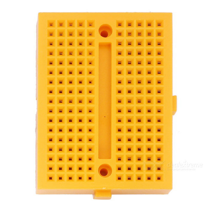 170 Points Mini Breadboard for Arduino - Orange