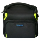 Ismartdigi i-106 GN Camera Case + Tripod + Speed Strap - Black + Green