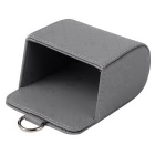 ZIQIAO Auto Air Conditioning Air Outlet Storage Hanging Box - Grey