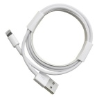 CARVE Mfi 8Pin Lightning to USB Data Sync Charging Cable - White (2m)