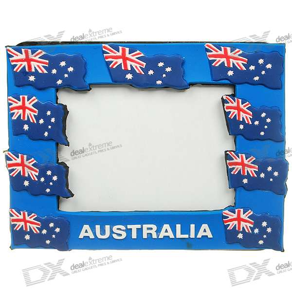 Australia National Flag Style Photo Frame