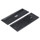 iPazzPort KP-810-35H Ultra-thin Wireless Multimedia Keyboard - Black