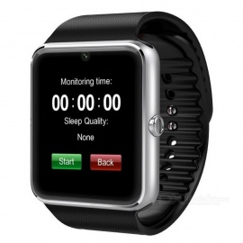 "GT08 1.54"" SIM Bluetooth Smart Watch for Android IOS - Gold"