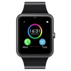 "GT08 1.54"" SIM Bluetooth Smart Watch для Android IOS - черный"