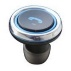 OURSPOP T1 2-em-1 Mini Wireless Bluetooth Earbud Car Charger - Ouro