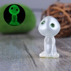 Grabbing Feet Kodama Style Luminous Tree Flower Pots Decorative Doll