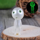 Standing Kodama Style Luminous Tree Gardening Pots Decorative Doll