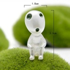 Hands on Knees Sit Kodama Style Tree Gardening Pots Decorative Doll