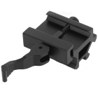 D0035 22mm Aluminium Alloy Dual Side Gun Rail Mount - Black