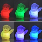 Santa Claus Colorful Gradient Small Night LED Light