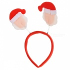 Cute Snowmen as Antlers Style Head Hair Band for Christmas Decoration