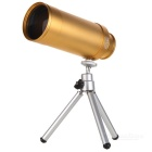 AX26 10×50DT Portable 10X 50mm Extendable Monocular Telescope - Yellow