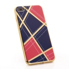 Geometric Pattern TPU Protective Case for IPHONE 7 PLUS - Red