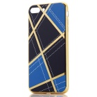 Geometric Pattern TPU Protective Case for IPHONE 7 PLUS - Blue