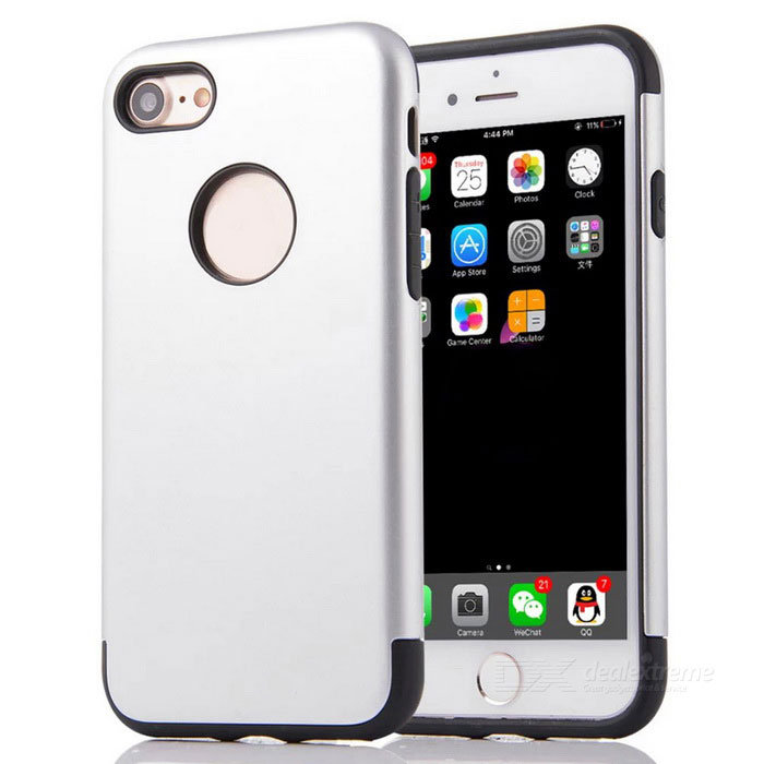 "Protective PC + TPU Back Case Cover for IPHONE 7 4.7"" - Silver"