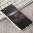 3D HD en relieve borde batman patrón caso trasero para IPHONE 7