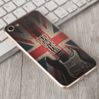 3D HD Embossed Edge Guitar Pattern Back Case for IPHONE 7