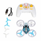 JXD 399 2.4G 4CH RC Quadcopter w/ LED Night Light - White+ Blue